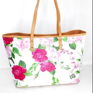 Kenneth Cole Reaction Floral Tote Bag Purse